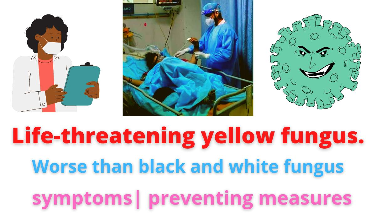 Life-threatening yellow fungus |Worse than black and white fungus | symptoms| preventing measures.