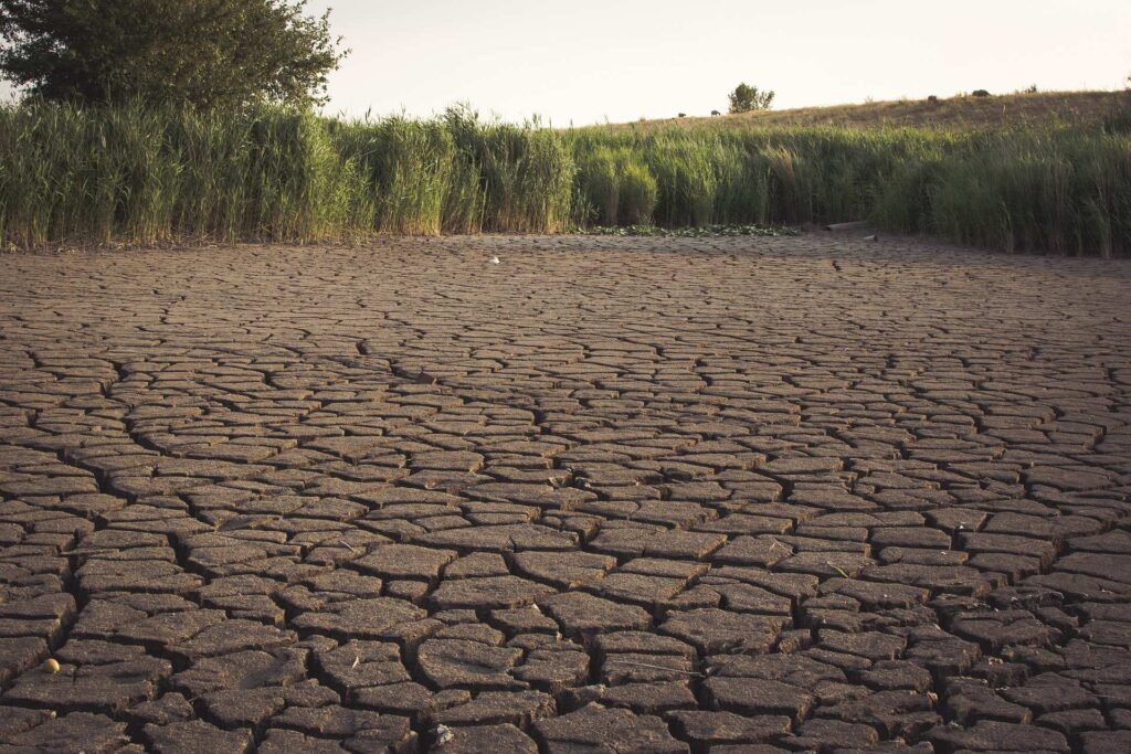 Rivers are dried - water crisis in india.