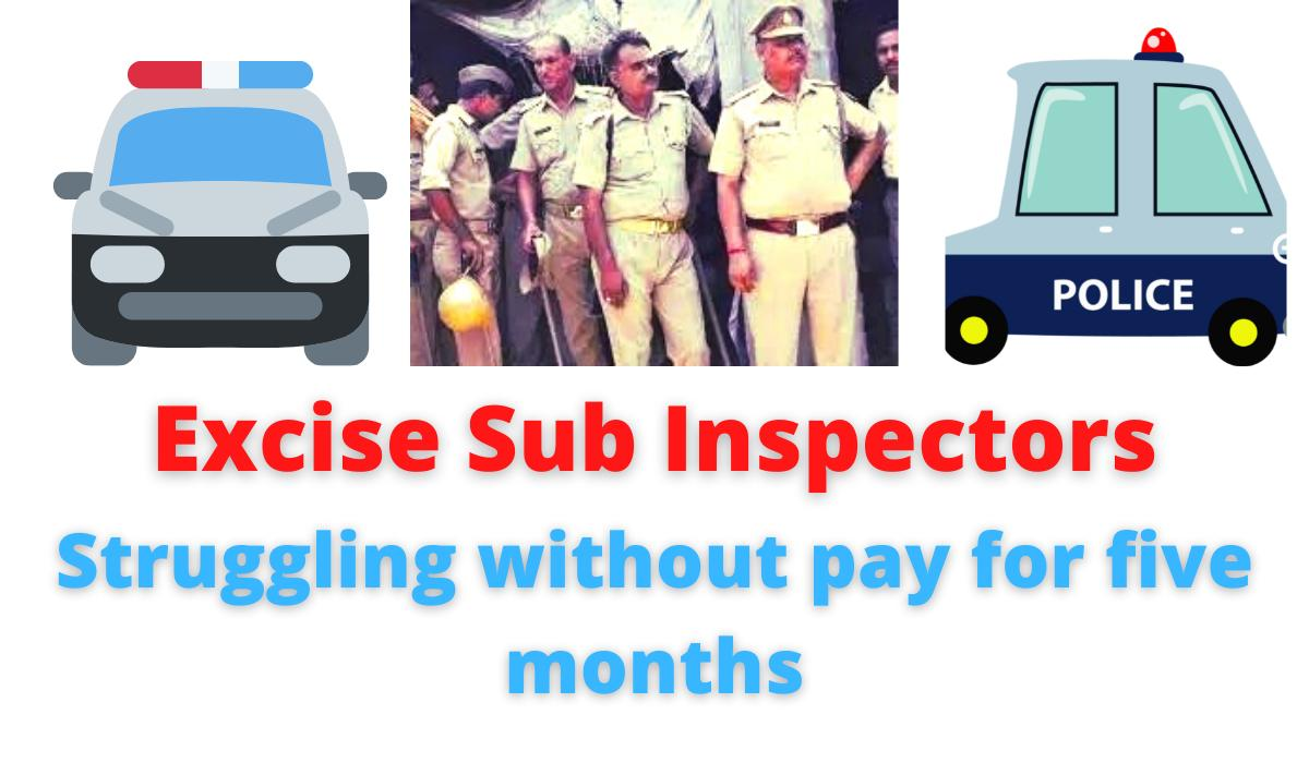 Excise Sub Inspectors   Permanent posting so far even if Group 2 is achieved   Excise sub-inspectors who are in trouble due to salary   Full details are as follows.