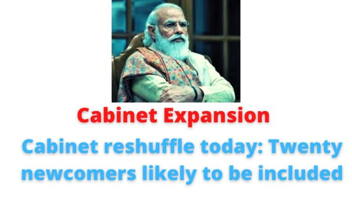 Cabinet reshuffle today: Twenty newcomers likely to be included | Chirag Paswan.
