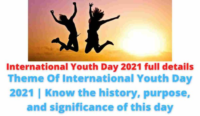 International Youth Day 2021 full details: Theme Of International Youth Day 2021 | Know the history, purpose, and significance of this day.
