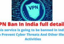 VPN Ban In India full details: This service is going to be banned in India   To Prevent Cyber Threats And Other Illegal Activities.