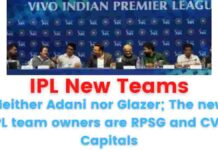 Neither Adani nor Glazer; The new IPL team owners are RPSG and CVC Capitals.